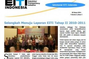 The First Edition EITI Indonesia Newsletter 2014