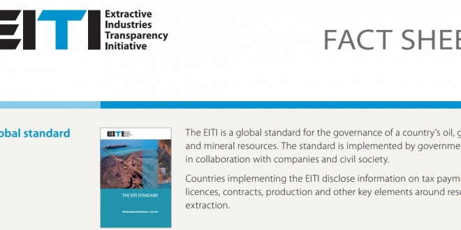 EITI Fact Sheet