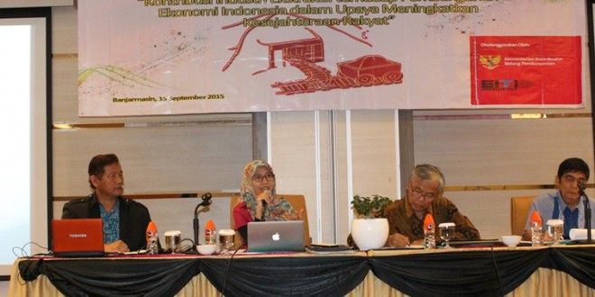 FGD Kontribusi Industri Ekstraktif terhadap Pembangunan Ekonomi , Banjarmasin,15 September 2015