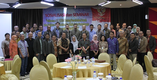 Socialization on EITI Indonesia and Law 23/2014, Surabaya, 8 October 2015