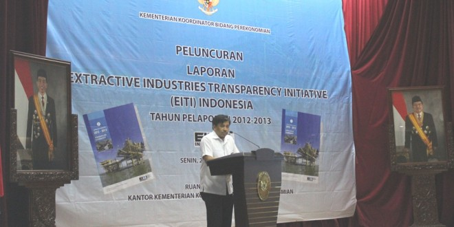 Launching Laporan EITI Indonesia 2012-2013