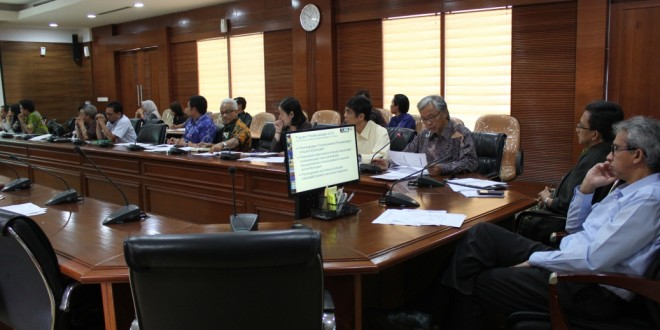 Risalah Rapat Tim Pelaksana 22 Desember 2015