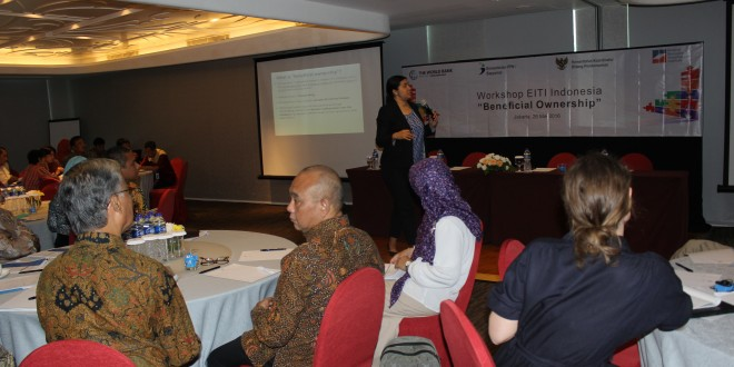 Workshop Beneficial Ownership, Jakarta 26 Mei 2016