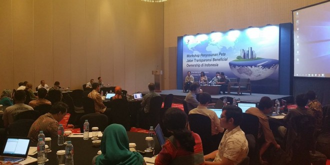 Workshop Penyusunan Peta Jalan Transparansi Beneficial Ownership (BO), Jakarta, 9-10 November 2016