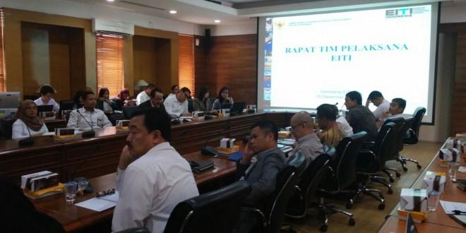Risalah Rapat Tim Pelaksana EITI, 5 Desember 2016