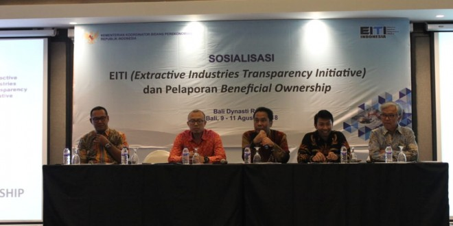 Press Release: Government Demands Transparency of Beneficial Owners of Extractive Industries Corporations