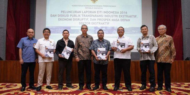 Increasing Transparency of Extractive Industries, Government Launches the 6th EITI Indonesia Report