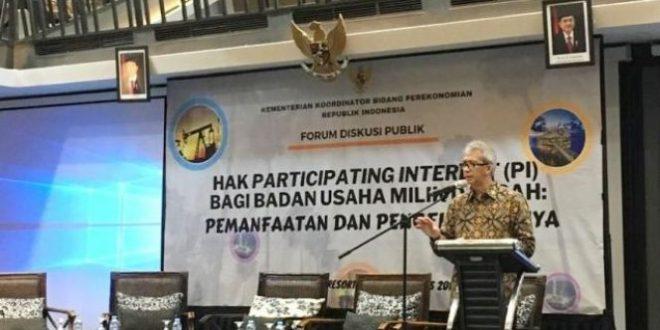 EITI Dorong Transparansi Hak Participating Interest Sektor Migas untuk Pemerintah Daerah